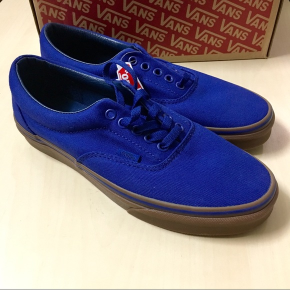 5e0ff19676 New Men s Van Era Canvas US 8.5 Blueprint Gum